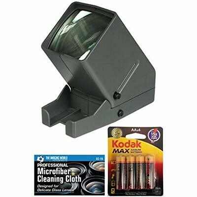 Medalight 35mm Desk Top Portable LED Negative And Slide Viewer + AA Batteries