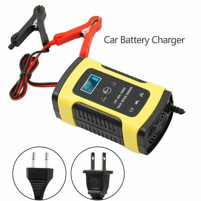 Automatic Car Battery Charger 110V To 220V To 12V 6A Intelligent Fast Charging