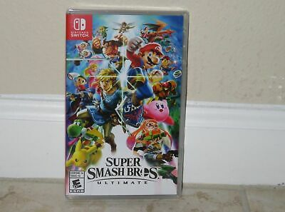 Nintendo SWITCH - SUPER SMASH BROS. ULTIMATE (Brand NEW Sealed) FREE Ship USA