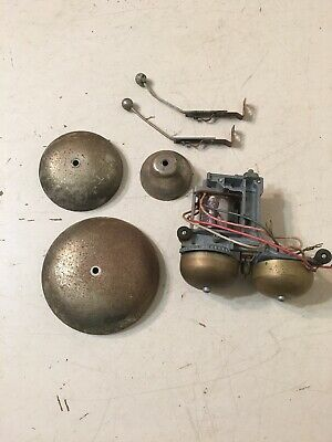 Lot Of Bells Strike Arms Parts From Standard Electric Clock Fire Alarm Phone