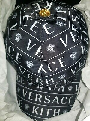 e5f519c253b NEW VERSACE TRIBUTE Nappa Leather Medusa Hat Cap Size 57 SOLD OUT ...