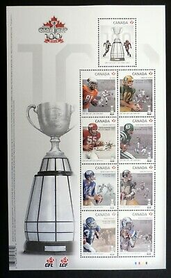 CANADA 2012: Canadian Football League, Grey Cup Centenary, Scott #2567
