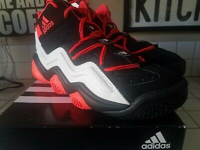 new product c0d1d f274a Adidas Top Ten 2000 New Size 10 Moe s Sneaker Spot Black Red 379607 Kobe  Bryant