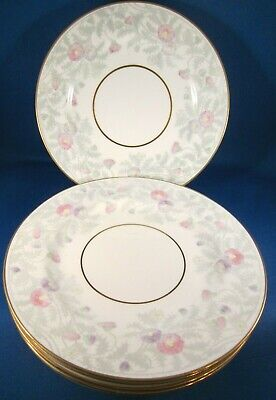 Paragon Glen Ayr Bone China Salad Dessert Plates - Set of 5 - 7.75 in - England