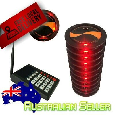 Customer Number Queuing Service Buzzer System Coaster {pager system}