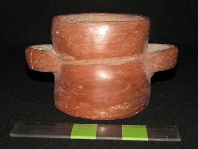 Pre Columbian, Pottery, West Mexican, Rare Offering Cup, 500 BC 200 AD