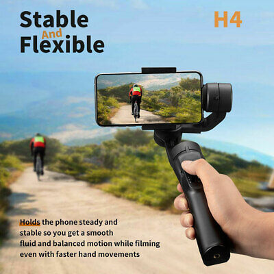 Smooth H4 Handheld Mobile Phone Gimbal Stabilizer for iPhone Samsung