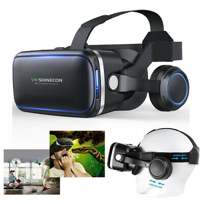 360° VR Goggles Virtual Reality Headset for iPhone Android Smartphones 4.5 to 6""