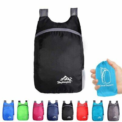 Foldable Backpack Bag Outdoor Sports Holder Accessories Portable Packable