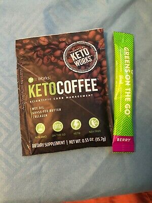 It Works! Keto Coffee And Greens On The Go Berry Blend!