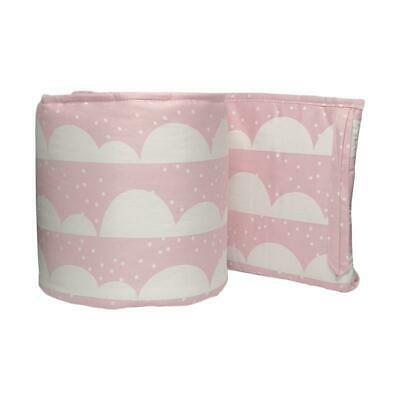 NEW Lolli Living 2 piece Cot Bumper Pink Scallops from Baby Barn Discounts