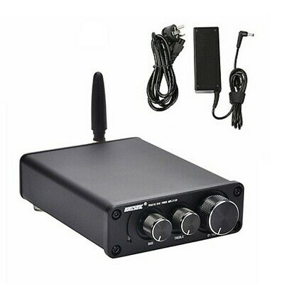 4 x 15w Bluetooth /& Aux Mini Amplifier 4x 3m Cable For Wall or Ceiling Speakers