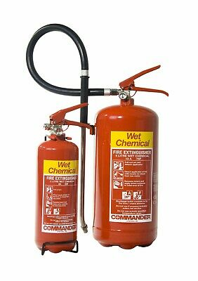 Wet Chemical Fire Extinguisher - meets UK Regulations - FREE DELIVERY