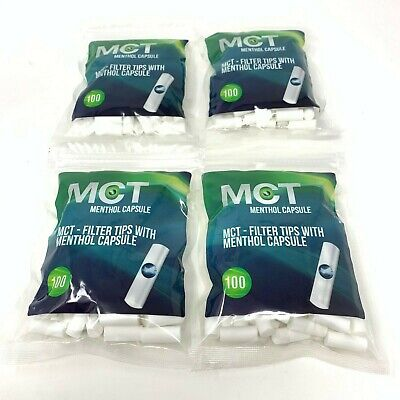 1 /2 / 4 Fresh Bomb Filter - 8 mm - Classic Menthol Click Filters