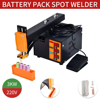 Pulse Spot Welder Welding Soldering Machine 18650 Battery Packs 220V 3KW