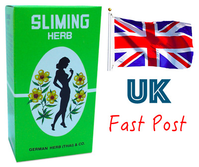 German SLIMMING HERB TEA, Sliming Weight Loss Diet Detox, 7 Week Supply, 50 bags
