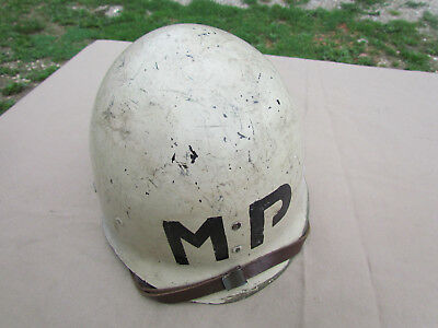 Casque Liner Us Westinghouse Military Police Us Ww2