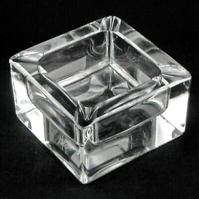 CENDRIER Vide-Poche CRISTAL DE SÈVRES France ashtray/glass/20th/baccarat/daum...