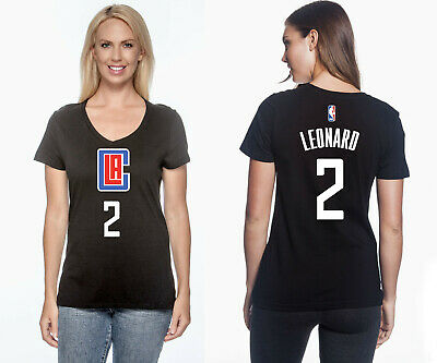 Kawhi Leonard - Los Angeles Clippers #2 NBA Jersey Inspired Women's Graphic - T