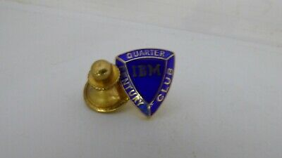 RARE Pin's Pins Pin Badge IBM QUARTER CENTURY CLUB EMAILLE / TOP !