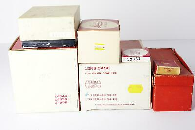 lot of 7x Leica Leitz vintage empty boxes - as pictured