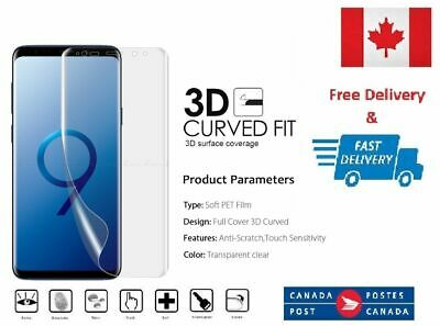 Full Coverage Film Screen Protector For Samsung Galaxy S7 S8 S9 S10 S8+ S9+ PLUS