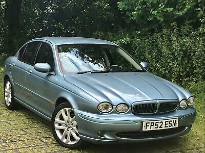 Jaguar X-TYPE 3.0 V6 Sport 231 Bhp 5 Speed Manual 63k FSH 2002 52 Reg