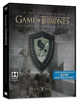 Game of Thrones - Season 4 (Limited Edition Steelbook) [Blu-ray] *BRAND NEW*