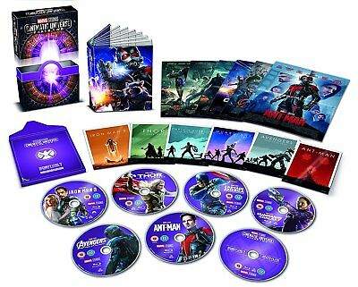 Marvel Studios Cinematic Universe Phase 2 - Collector's Edition [Blu-ray] *NEW*