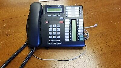 NORTEL NETWORKS T7316E Telephone NT8B27JANAE6 with T24 Key Indicator