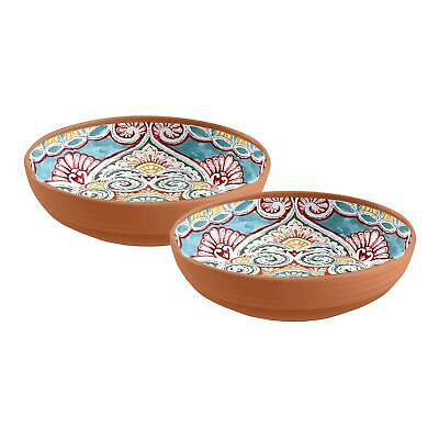 Auntie Morags Epicurean Rio Corte Outdoor//Picnic//BBQ Chips /& Dips with Serving Platter Set Plastic//Melamine Nibbles