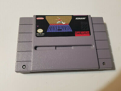 Prince of Persia (Super Nintendo Entertainment System, 1992) SNES Tested NTSC