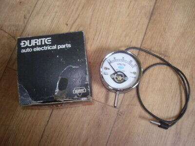 Vintage Durite Voltmeter --New Old Stock--