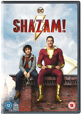 Shazam! [2019] (DVD) Zachary Levi, Mark Strong, Asher Angel, Jack Dylan Grazer