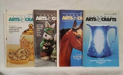 Ceramic Arts And Crafts Magazines Lot of 4 1997