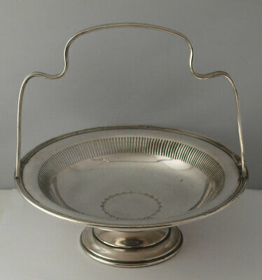 Mappin & Webb Silver Plated Cake Basket