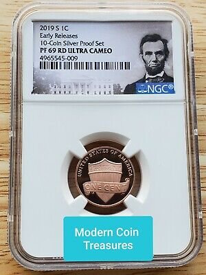 2019-S Proof Lincoln Shield Cent, NGC PF69 ULTRA CAMEO  Penny US Mint USA 1c