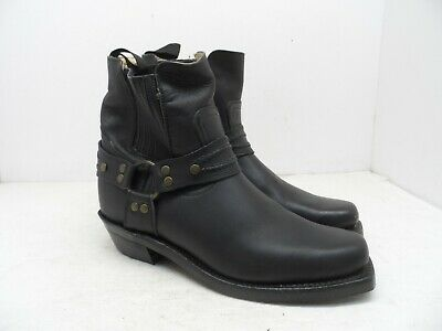 """Boulet Men's 6"""" Double Side Gore Harness Motorcycle Leather Boot 7495 Black 7C"""