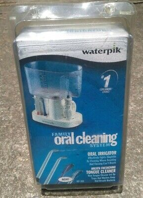 NEW WATERPIK Family Oral Cleaning  System WP-70W SEALED