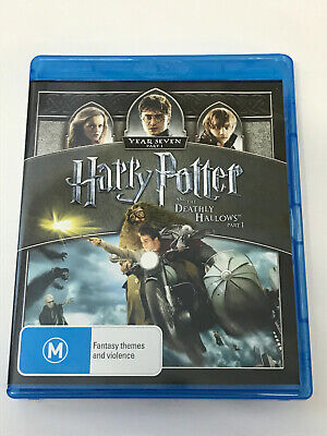 Harry Potter And The Deathly Hallows Part 1 - Daniel Radcliffe (Blu-Ray)