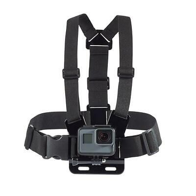 Chest Strap For GoPro HD Hero 6 5 4 3+ 3 2 1 Action Camera Harness Mount Black