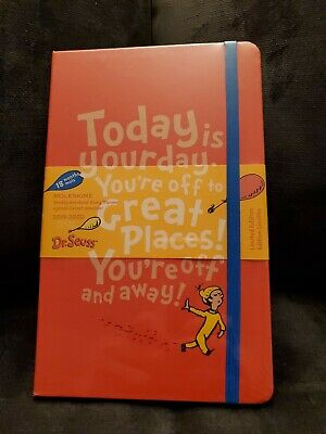 Moleskine Limited Edition Dr. Seuss, Lg, Ruled, Red, Hard Cover (5 x 8.25) [New