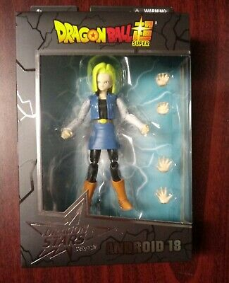 Dragon Ball Super Dragon Stars Wave 12 Android 18 Action Figure New
