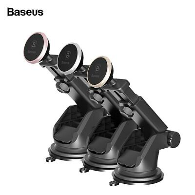Baseus Magnetic Car Phone Holder Telescopic Suction Cup Car Dashboard Mount Cell