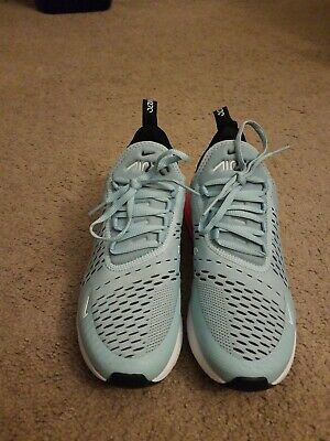 premium selection 2752f d808e WOMENS Nike Air Max 270 Sz 8 Blue Red Preowned