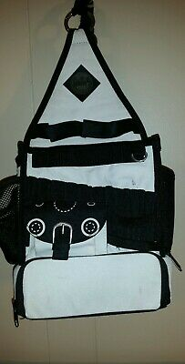 Tote Bag Craft Cool Organization Sewing Knitting Crocheting Scrapbooking Black