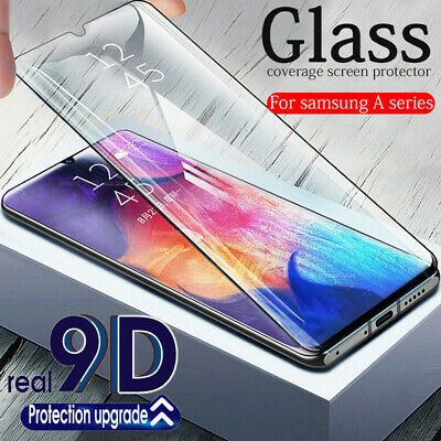 2pcs Premium Screen Protector Tempered Glass For Samsung Galaxy A70 A40 A60 A20E