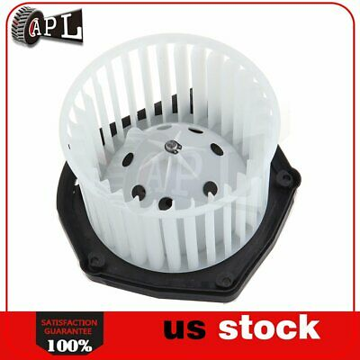 Heater Blower Motor w// Fan Cage for Chevy GMC Cadillac Pickup Truck