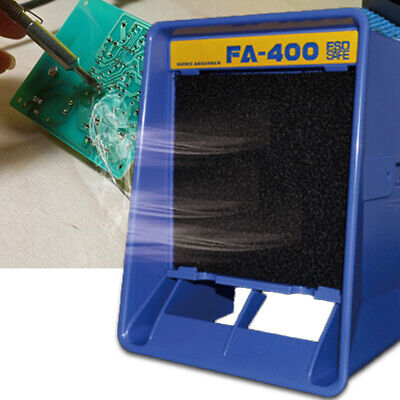 Solder Smoke Absorber Air Filter Fan Smoke Remover Fume Extractor 13W