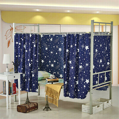 Students Dormitory Bunk Bed Tent Curtain Lightproof Dustproof Cloth Canopy Spread Blackout Curtains Mosquito Protection Screen Net Mosquito Protection Bedding Bedding Accessories